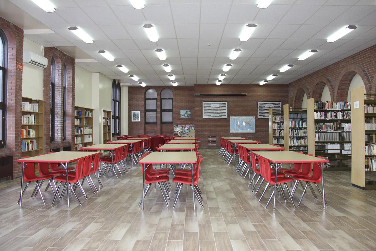 Bibliotheque Collège Français Montreal